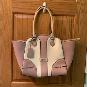 Dusty Rose and Cream Guess Purse